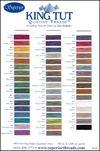 King Tut Colour Card
