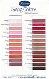 Living Colors Colour Card
