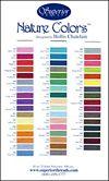 Natures Colors Colour Card