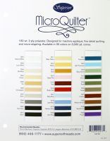 MicroQuilter Colour Card