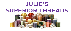 Glitter - Julie's Superior Threads - the superior thread for your work